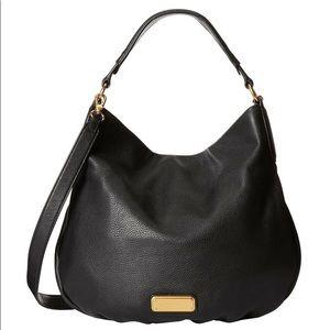 Marc Jacobs Hillier Hobo Bag In Black